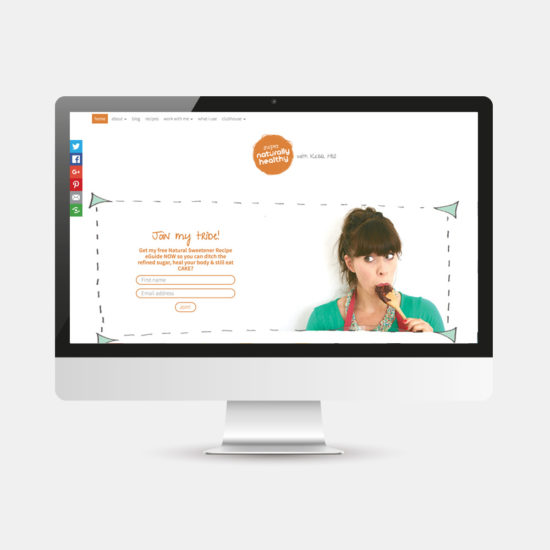Website Design - Supernaturally Healthy